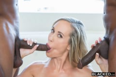 Brandi Love - Sexy Mom Takes 2 young BBCs (Thumb 05)