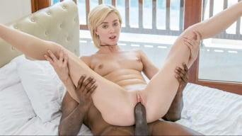Haley Reed in 'Beautiful Blonde Girl and BBC'