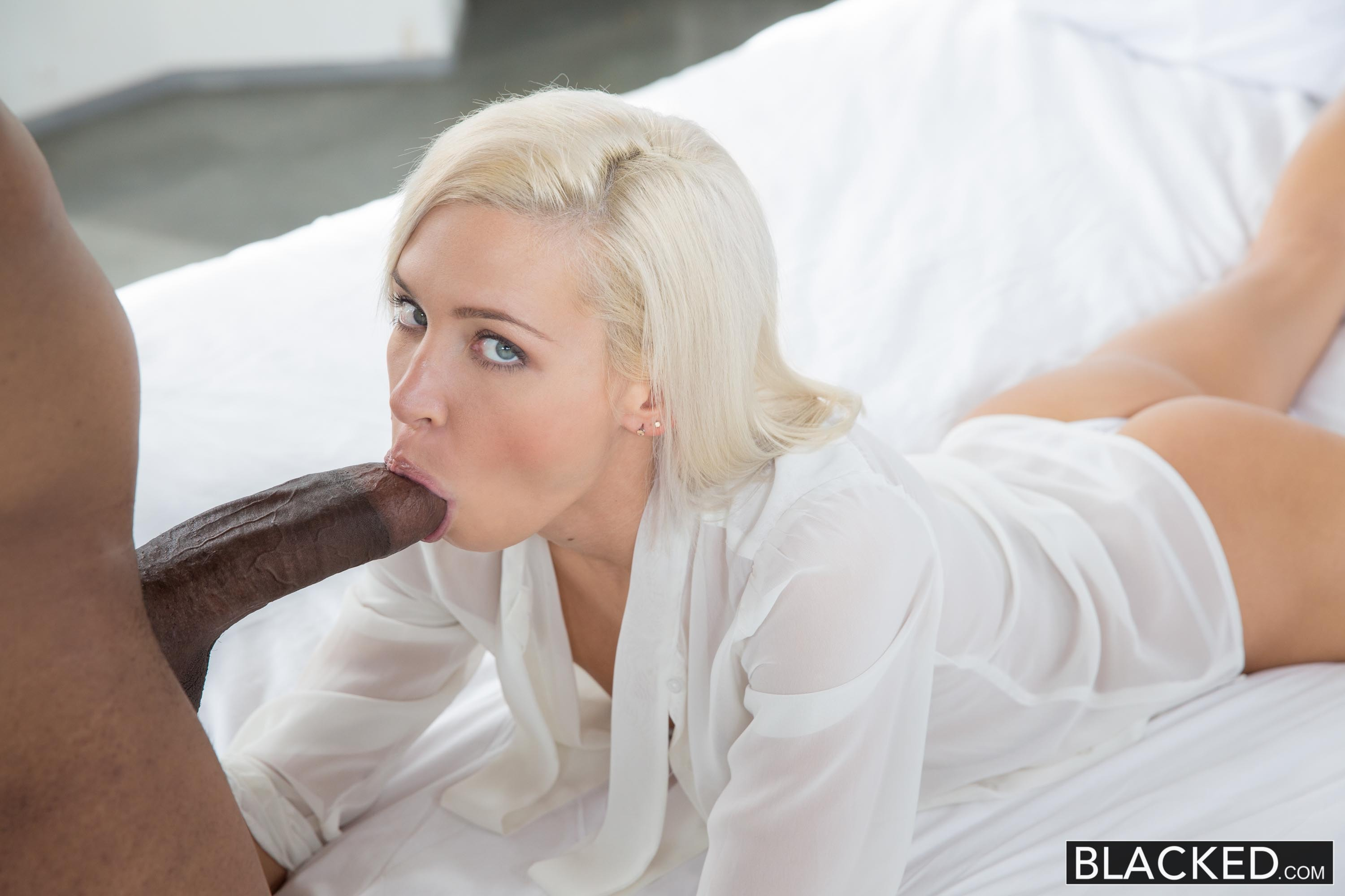 Blacked preppy blonde girlfriend kacey jordan cheats with bb