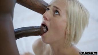 Kate England in 'Cheating Blonde Wife Fucks Husbands Black Friend'
