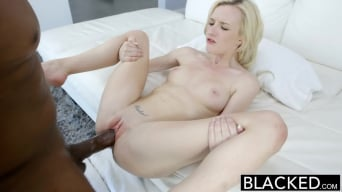 Skylar Green in 'Tiny Blonde Teen Takes Huge Black Cock!'